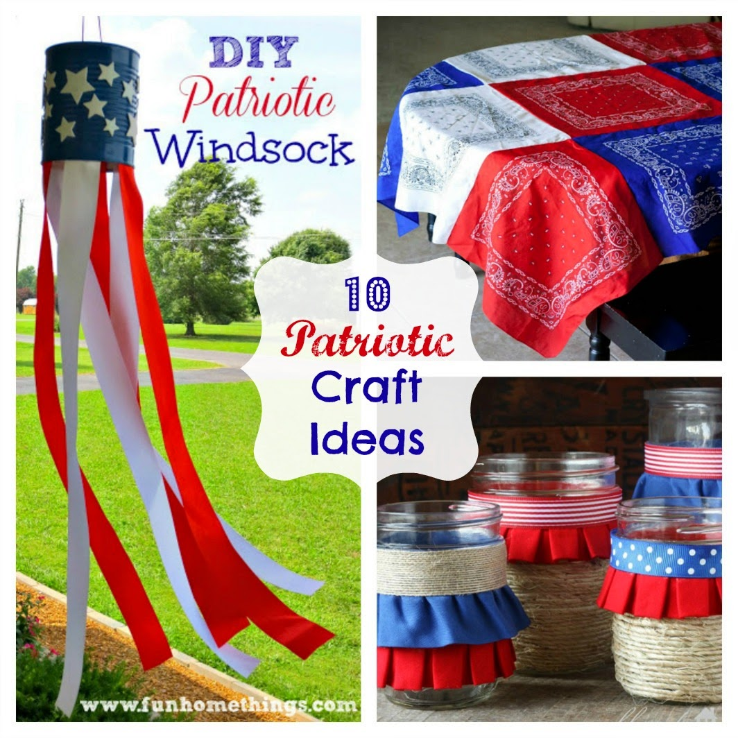 Fun home things for Americana crafts to make