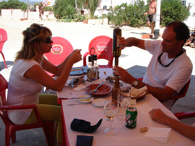 Restaurant in Culatra