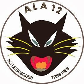Emblema Ala 12 No le busques tres pies