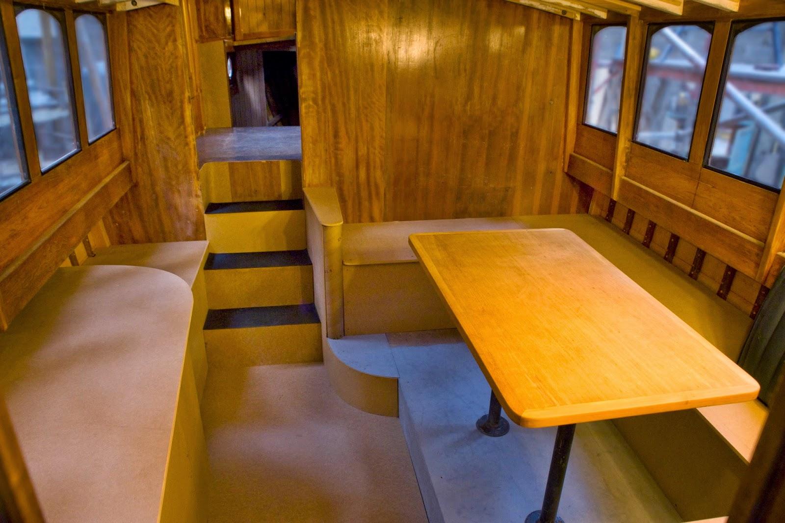 Australian Boat Restoration Interior Mock Up