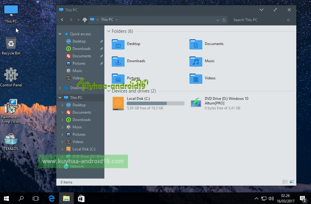 Windows 10 Altum Pro 1607 kuyhaa