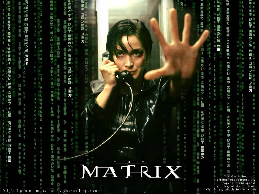 the tap: The Matrix movie was a warning