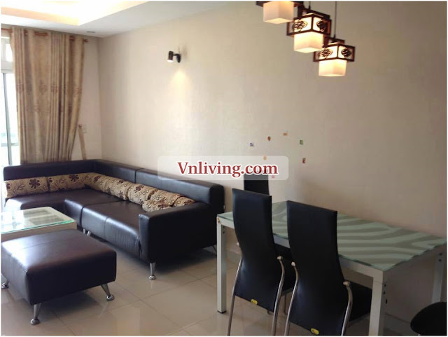Apartment for rent in Phu My Hung District 7 furnished 2 bedrooms 100 sqm