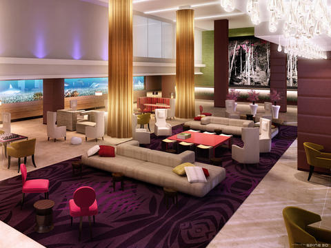 Restorant modern hotel designs and pictures for Modern hotel decor