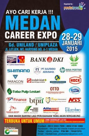 JOB FAIR MEDAN CAREER EXPO JANUARI 2015