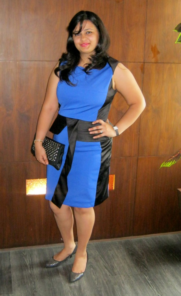 Birthday : Blue Black Peplum