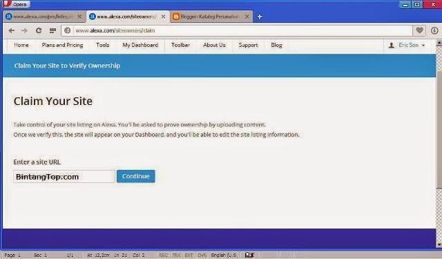 Cara Terbaru SUBMIT Website ke ALEXA