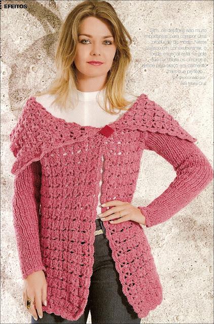 croche e trico juntos com receitas e graficos em croche com receitas