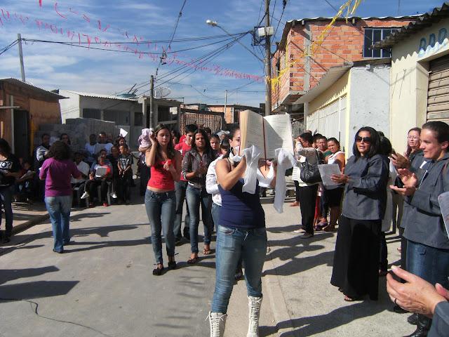 Animando comunidades en Brasil