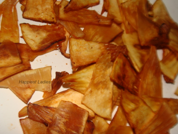 Bread Fruit Chips Recipe+dehydrated fruit