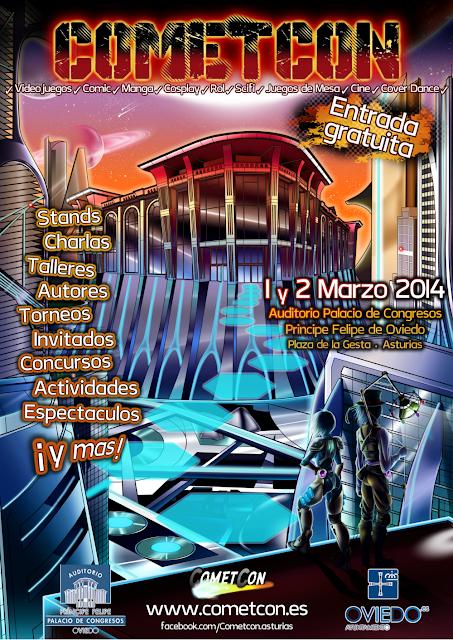 Asturias con niños a dónde vamos hoy? al COMETCON, ocio alternativo en el Auditorio de Oviedo