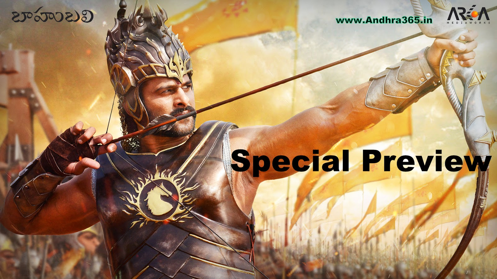 Baahubali Special Preview on 21st