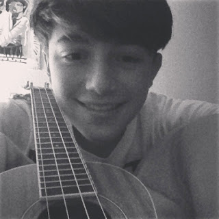 Greyson Chance with his new Ukulele Photo 2013