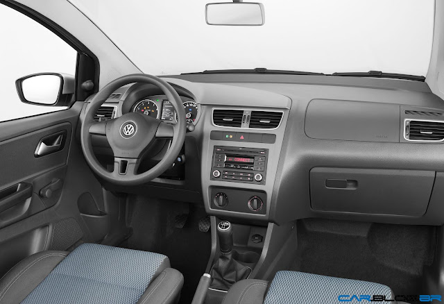 VW Fox Bluemotion 2013 - painel