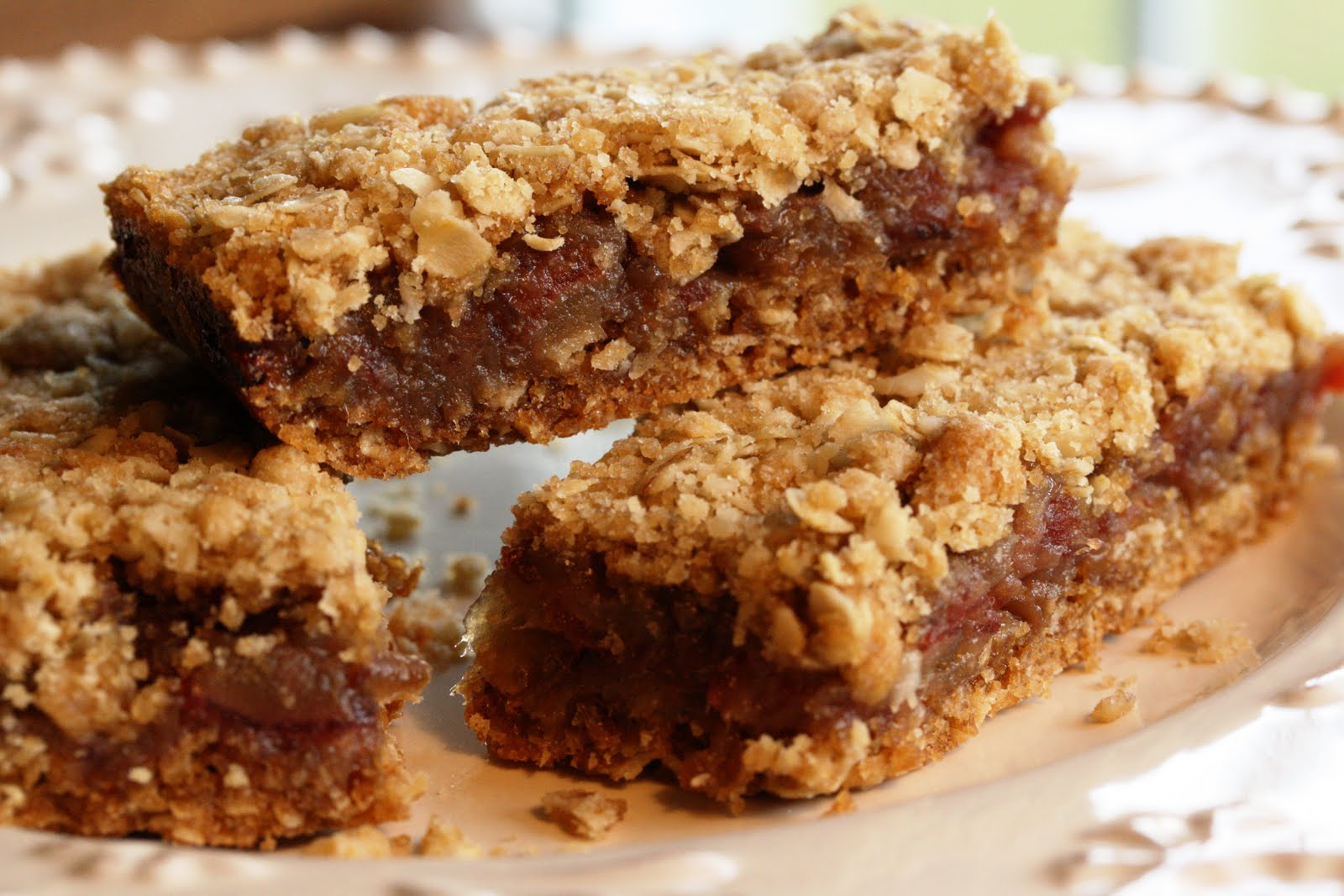 Date Bars - Saving Room for Dessert