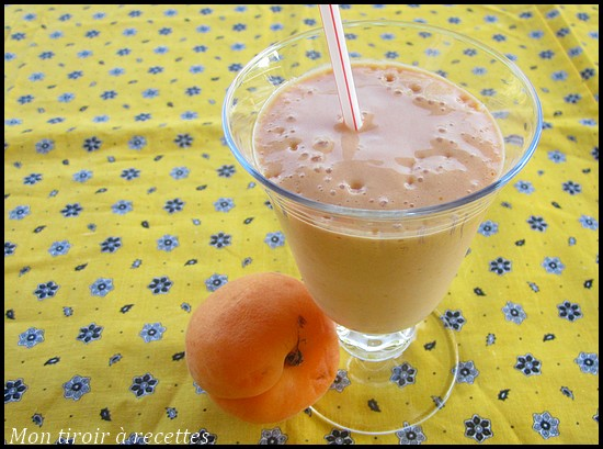 Milkshake abricot