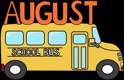 A Teacher's Touch: August Calendar