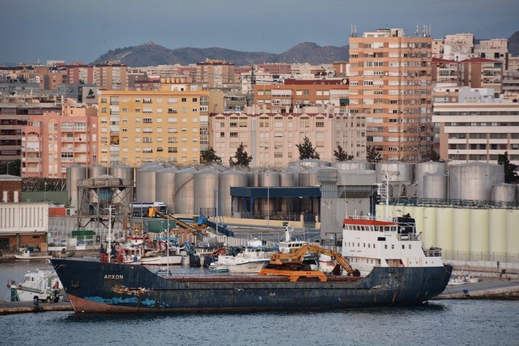 Port of Malaga cargo