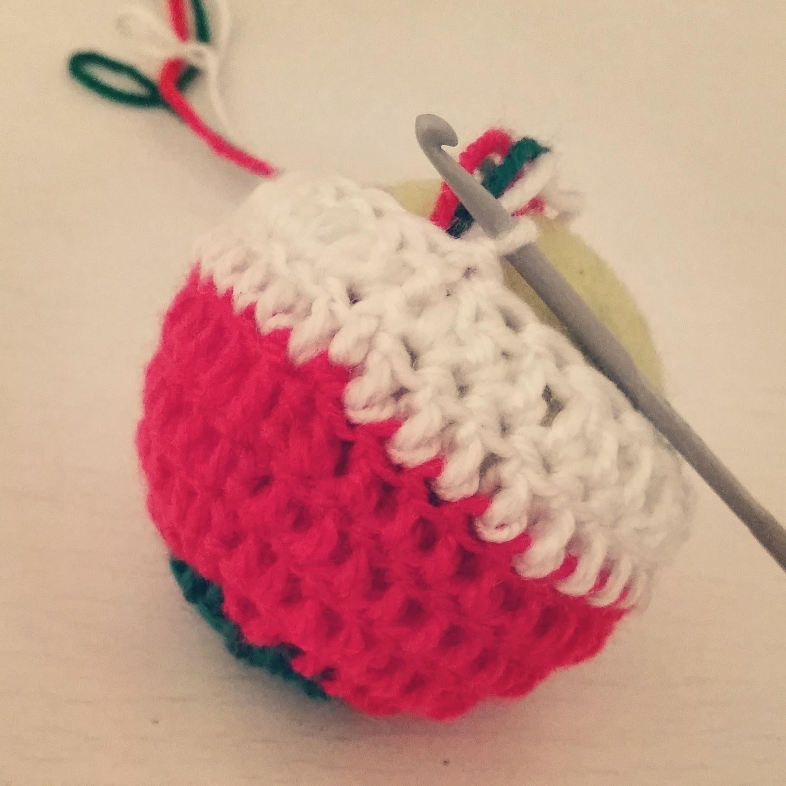 C mo hacer bolas de navidad a crochet ahuyama crochet - Bolas de ganchillo ...