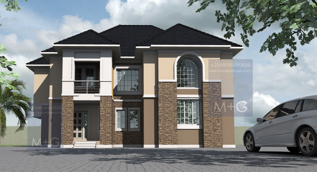 Contemporary Nigerian Residential Architecture 5 Bedroom