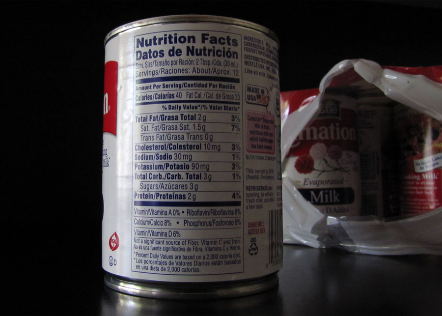 Smells Like Food in Here: Carnation Evaporated Milk