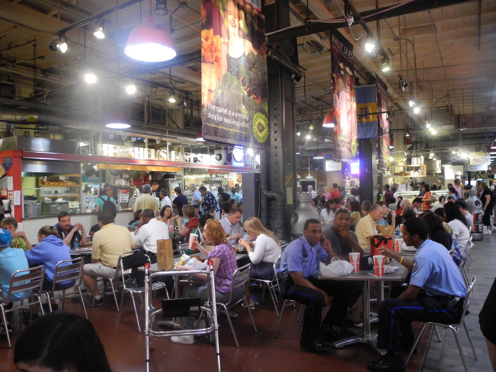 A Lunchtime Tour Of Reading Terminal Market