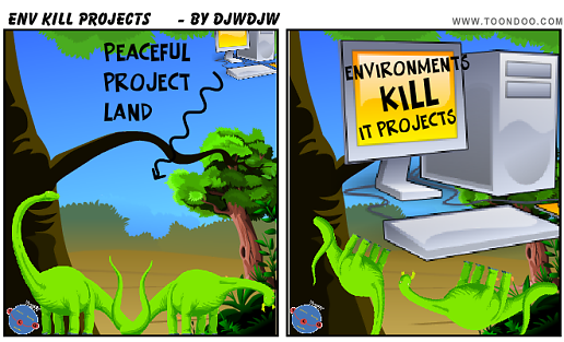 Environments Kill IT Projects