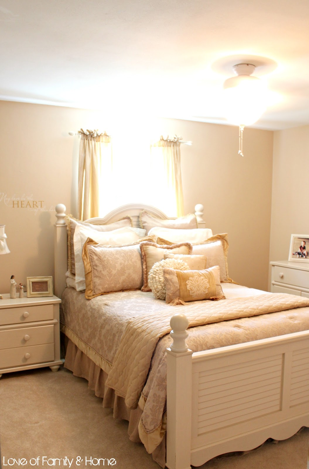 10 cottage style bedrooms makeover inspiration love of for Bedroom makeover inspiration