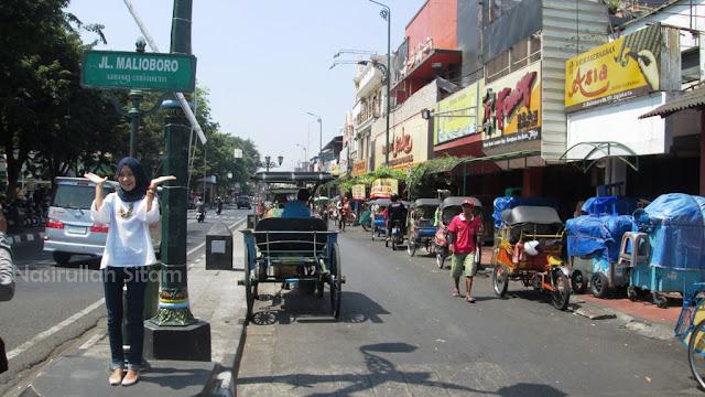 Plang Jalan Malioboro, Yogyakarta