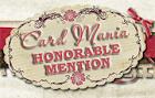 Eervolle vermelding Card Mania 06-10-2013