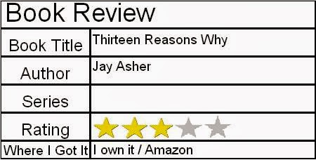 13 reasons why book review