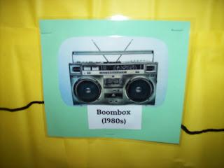 Bulletin board changes in music