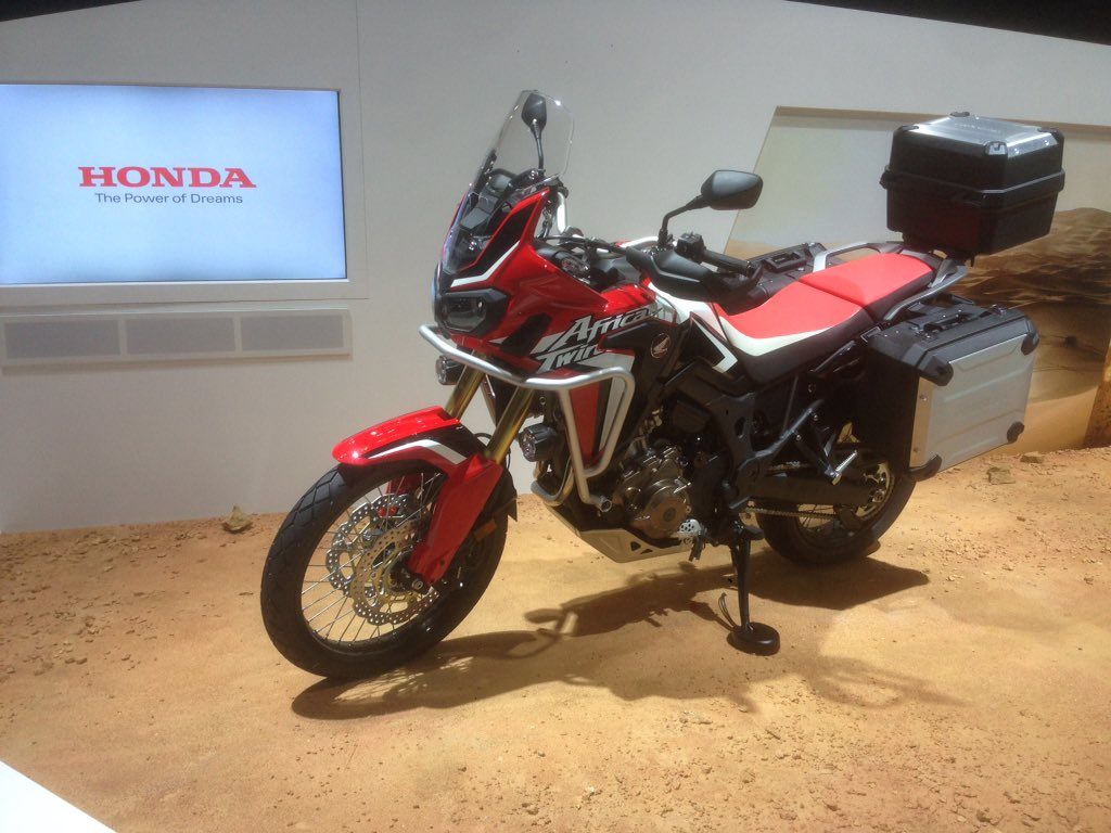 tokyo 2015 honda crf1000l africa twin forum. Black Bedroom Furniture Sets. Home Design Ideas