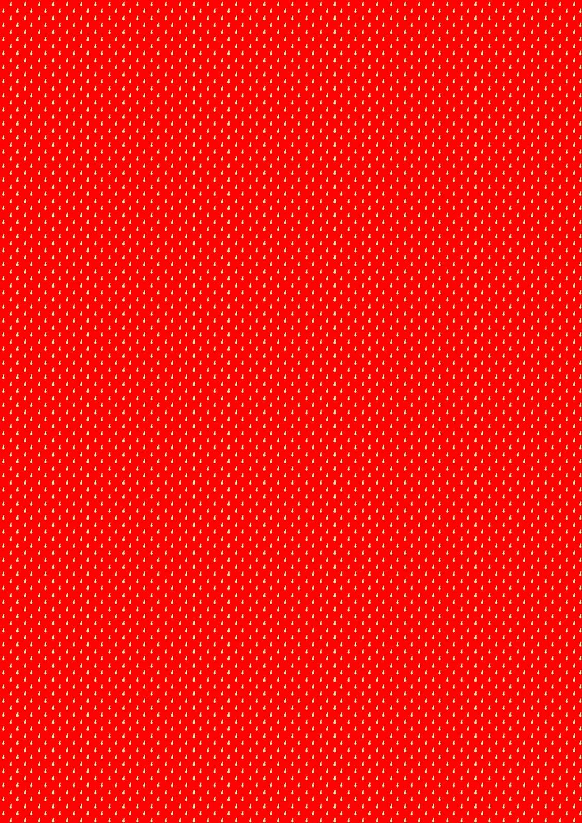 Free digital strawberry red scrapbooking paper - ausdruckbares ...
