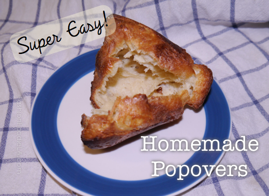 how to make popovers without a popover pan