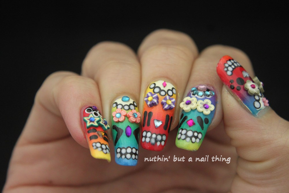 Nuthin But A Nail Thing 40 Great Nail Art Ideas Halloween