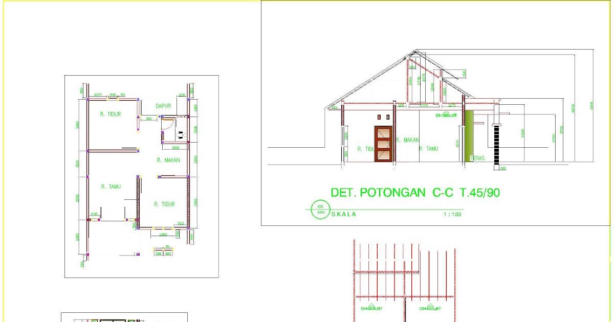 bossa design cinere agung residence type 45 90