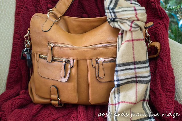 Designer Camera bag with padded interior compartments