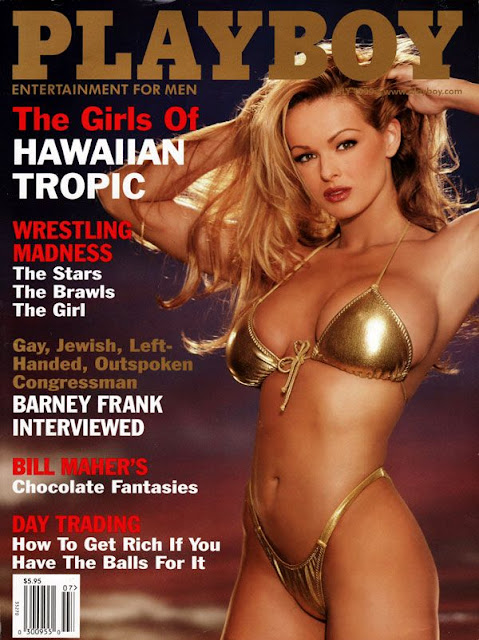 Brooke Richards - Bikini on Playboy Magazine