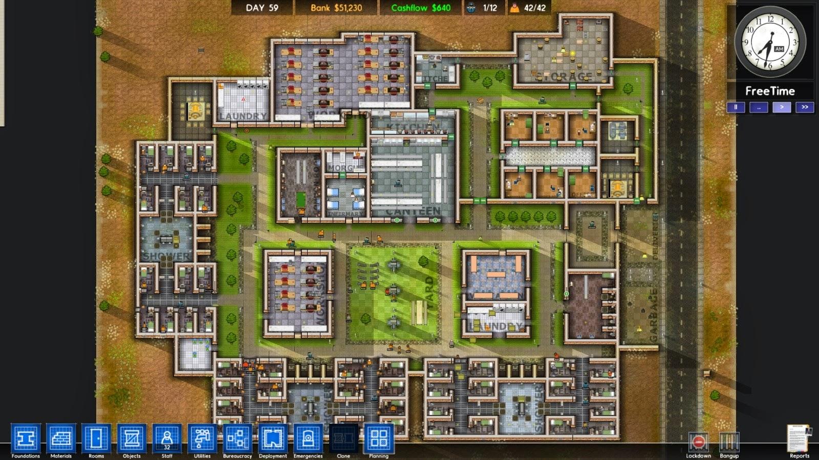 Premium mini games free prison architect 19 alpha for Jail architect
