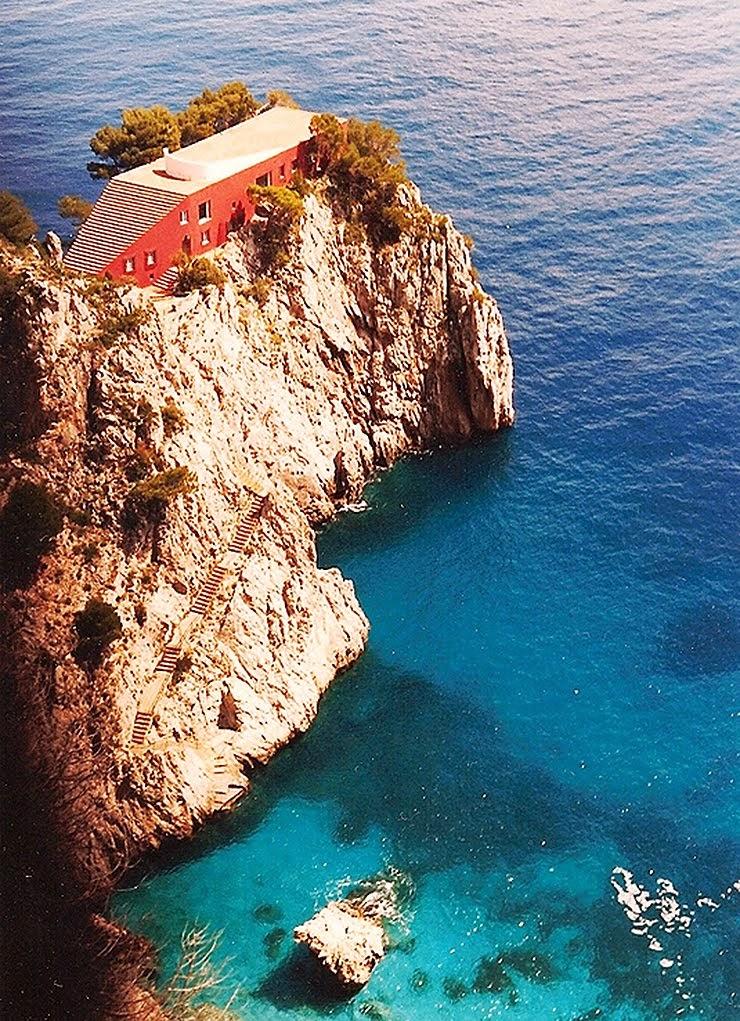 Casa Malaparte, Capri, Italia