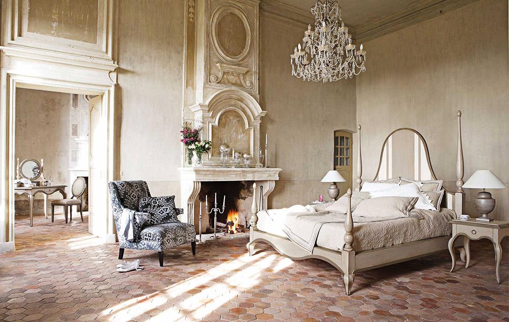 Baños Estilo Frances:Rustic Country Bedroom