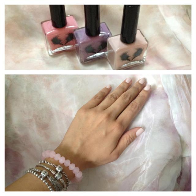 Lacc la couleur couture vegan friendly nontoxic nail polish spring collection