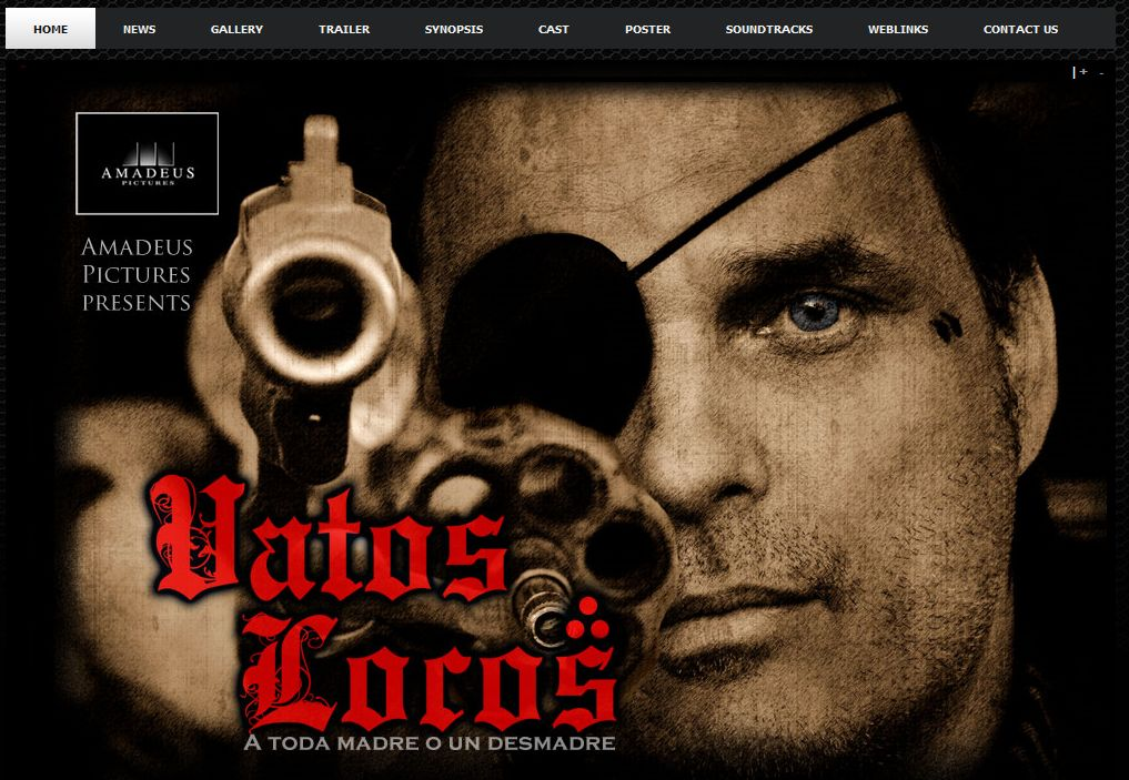 Web Site for Vatos Locos Movie