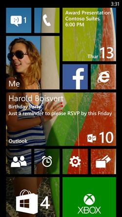 Cara Menggunakan Queiet Hour Pada  Windows Phone 8.1