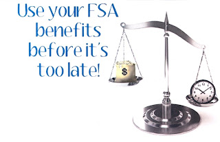 Use Your FSA benefits before it's too late!