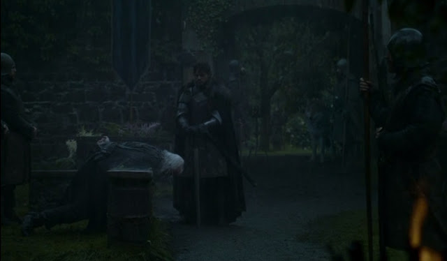 Robb Stark Rickard karstark sentencia muerte - Juego de Tronos en los siete reinos