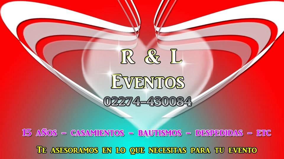 ORGANIZACIÓN DE EVENTOS R & L