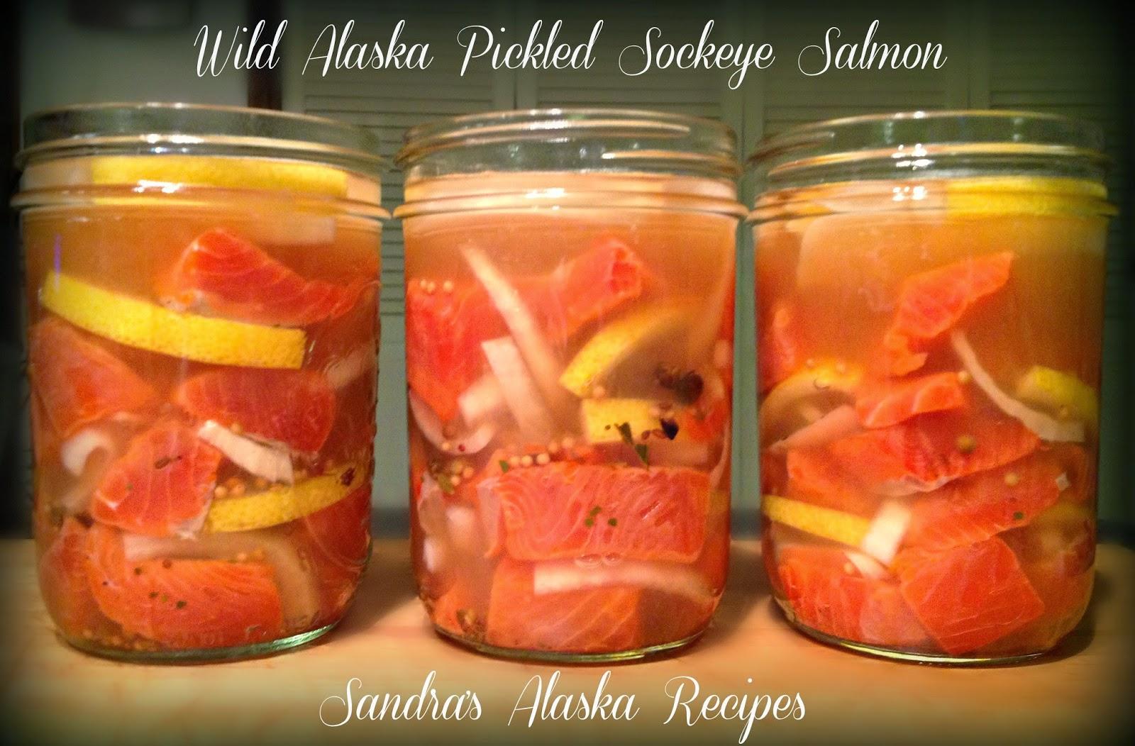 sandra u0026 39 s alaska recipes  sandra u2019s wild alaska pickled