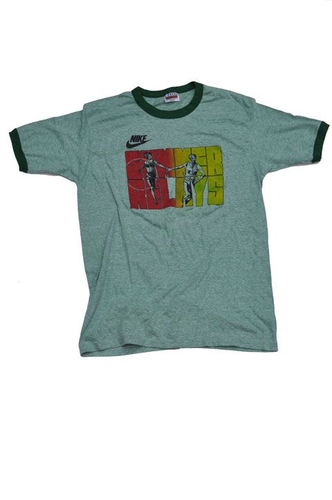 Goodbye T Heart Vintage Block Vintage Nike Shirt Print 80s 7BO7wqA